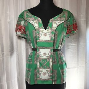 Anthropology Floreat size 10 top